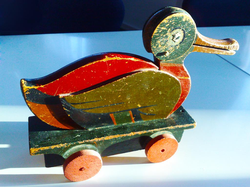 The LEGO Duck in Billund