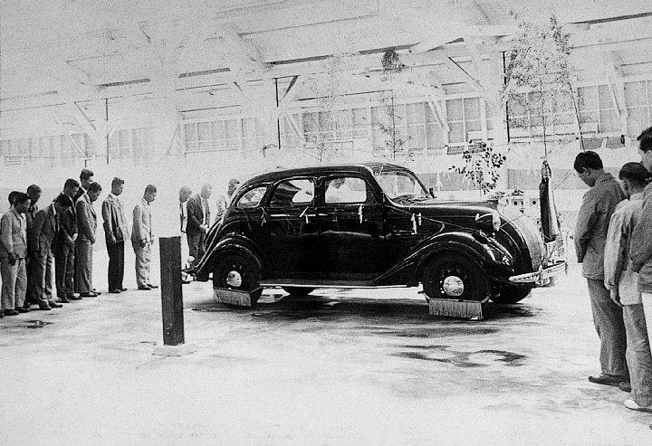 Toyota – The first passenger car in Nagoya